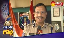 Cyberabad CP Sajjanar Wishes To PV Sindhu