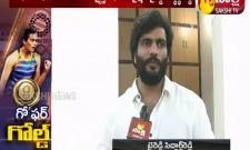 AP Sports Authority Chairman Siddharth Reddy   Congratulated to PV Sindhu