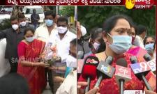 Sucharitha Fires On Tdp Leaders