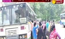 Khammam District: Private Bus Owners In Financial Trouble