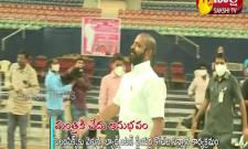 Hyderabad: Bitter Experience For Sports Minister Srinivas Gowda In Gachibowli
