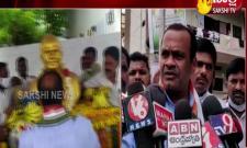 Komatireddy Venkat reddy comments on YS Rajasekhara Reddy