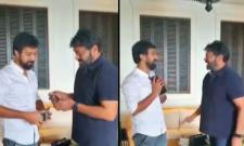 Chiranjeevi Special Gift To Director Baby - Sakshi