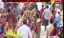 Lal Darwaja Simhavahini Ammavaru Bonalu Celebration