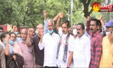 Delhi: Visakha Steel Plant Employees Demands At Jantar Mantar