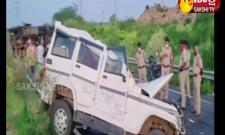 Road accident in anantapur district