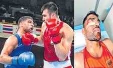 Tokyo Olympics: Satish Kumar Shows His Indian Army Spirit - Sakshi