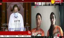 raj sabha and lok sabha congratulated to PV Sindhu