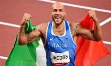 Olympics: Lamont Marcell Jacobs Becomes New 100m King With Glory For Italy - Sakshi
