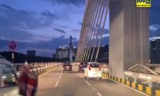 British High Commissioner Andrew Fleming Shot Durgam Cheruvu Cable Bridge