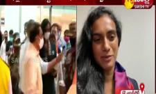 Tokyo Olympics Grand Welcome For PV Sindhu Delhi Airport After Won Bronze