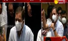 congress leader rahul gandhi serious on central government