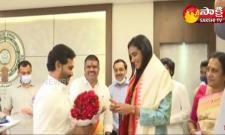 CM YS Jagan Appreciates PV Sindhu For Winning Bronze Medal In Tokyo Olympics