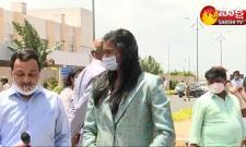 Olympic Winner PV Sindhu Speaks To Media After Meet AP CM YS Jagan