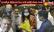 PV Sindhu Received Grand Welcome In Vijayawada