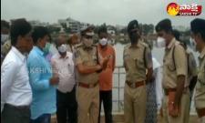 rachakonda cp mahesh bhagavath visits saroornagar leak