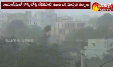 Heavy Spots Of Rains In Coastal Andhra