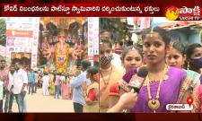 devotees flocking to see the khairathabad ganesh