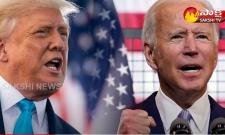 Donald Trump once again lashes out at US President Joe Biden.