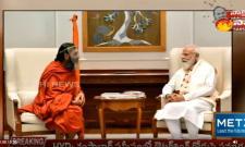 Chinjiyar Swamy Meets Prime Minister Modi