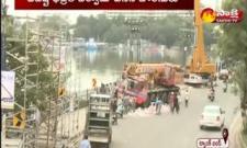 HYD: Arrangements For Ganesh Immersions On Tank Bund