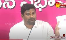 TRS MLA Balka Suman Strong Counter to Bandi Sanjay