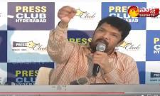 Posani Krishna Murali Talks In Press Meet In Somajiguda Over Pawan Kalyan Comments