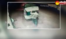 Garam Garam Varthalu: Diesel Thefts Caught In CCTV Camera at Suryapet