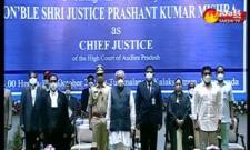 Justice Prashant Kumar Mishra Take Oath As AP High Court CJ