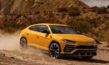 Lamborghini SUV Urus scale worlds highest drivable road in Ladakh - Sakshi