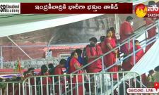 Heavy Rush In Kanaka Durga Temple In Indrakiladri