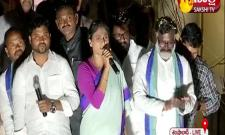 YS Sharmila Padayatra On Third Day In Rangareddy District