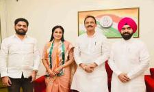 Bigg Boss Fame Kamya Panjabi Joins Congress Political Party In Mumbai - Sakshi