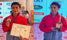 Nikhat Zareen Won Gold Medal In National Women Elite Boxing championship - Sakshi