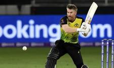 T20 World Cup 2021: David Warner First Australia Batsman Complete 500 Runs - Sakshi