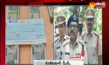 police arrested the realtor arun kumar in mahabubnagar