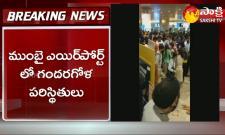 High Tension In Mumbai Airport