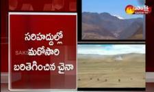 High Tension At India China Border