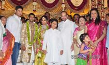 mahesh babu brother marriage