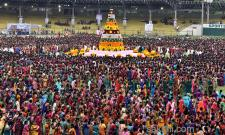 Bathukamma Celebrations at LB Stadium