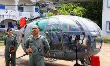 MEDIA VISIT TO AIR FORCE STATION HAKIMPET