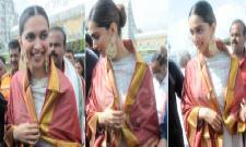 deepika padukone visits tirumala - Sakshi