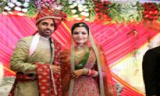 Bhuvneshwar Kumar married to his girl friend in Meerut - Sakshi - Sakshi