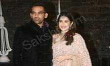 Sagarika Ghatge And Zaheer Khan's Wedding: Sachin Tendulkar Leads Celeb Roll Call At Reception - Sakshi - Sakshi - Sakshi - Sakshi