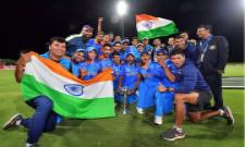 India Under-19 beat Australia Under-19 by 8 wickets - Sakshi
