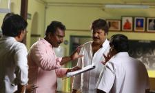 Gayatri Movie Working Stills - Sakshi