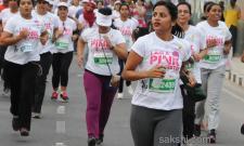 Pinkathon Run at Peoples Plaza  - Sakshi