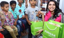 Samantha at an event for hearing impaired kids Photo Gallery - Sakshi