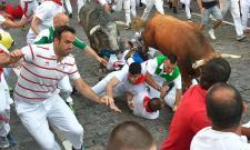 Bull Festival in Spain Photo Gallery - Sakshi