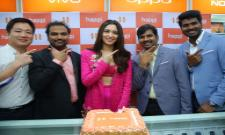 Tamannaah Launches Happi Mobile Store at Bhimavaram - Sakshi